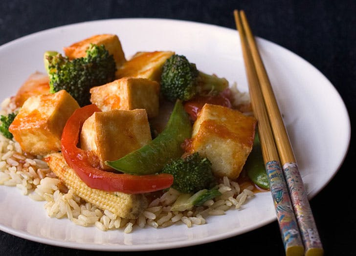 easy vegan asiantofu