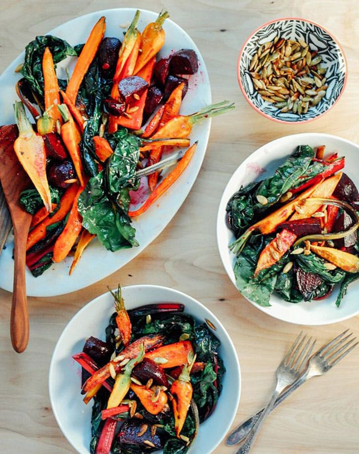 easy vegan roastedveggies