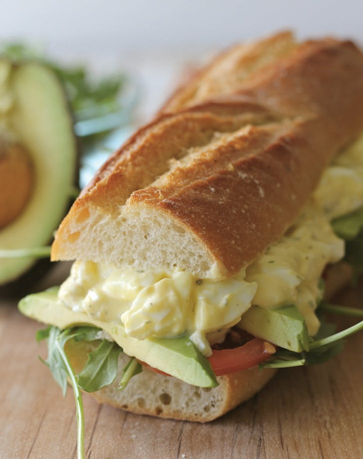 eat clean egg salad