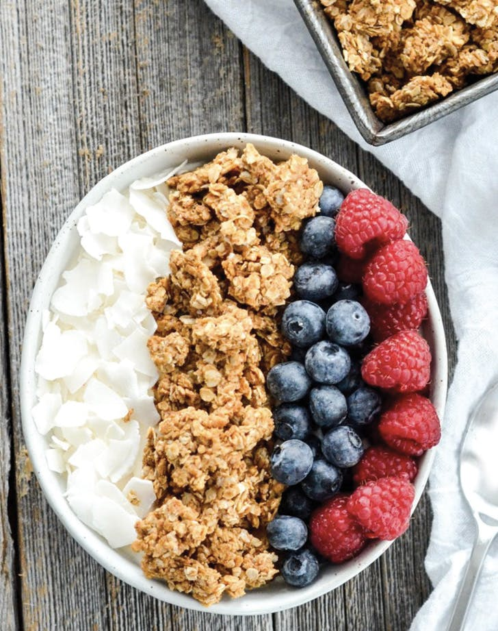 eat clean granola