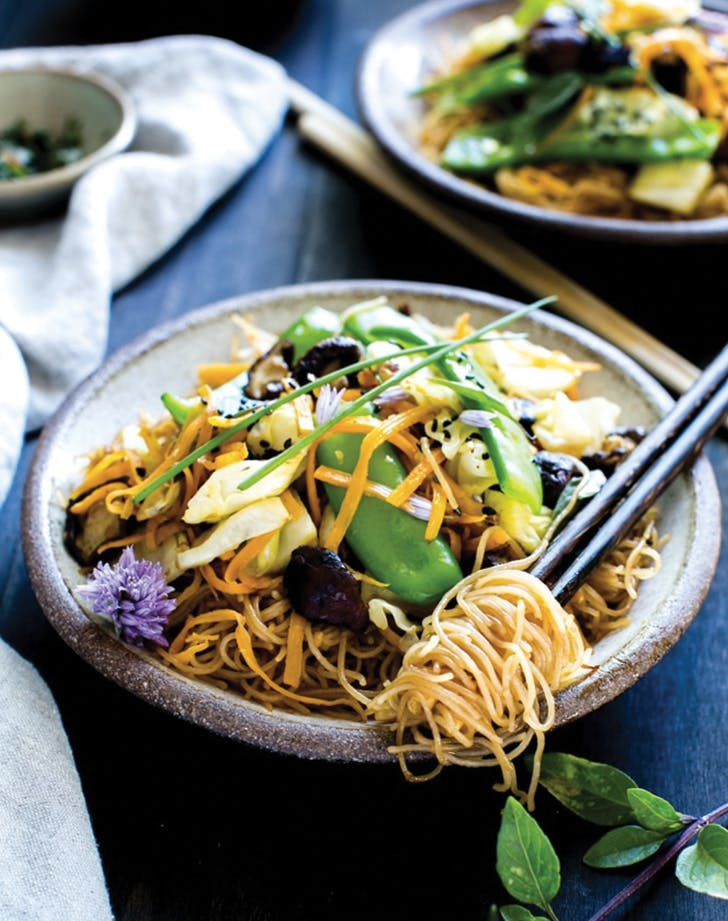 eat clean noodle bowl