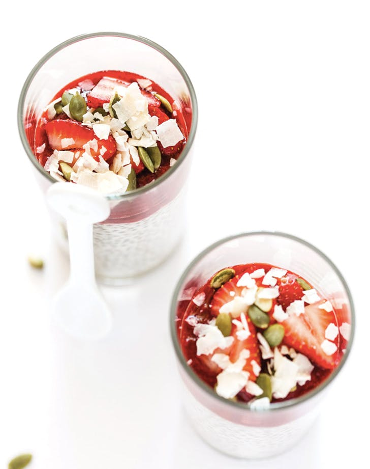 eat clean parfait