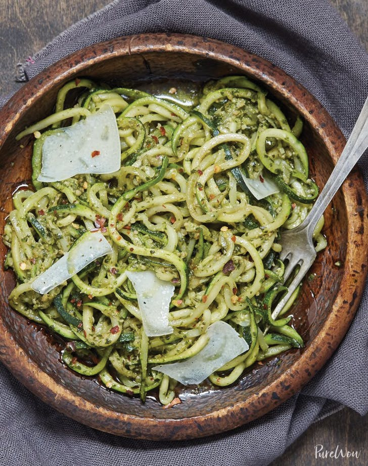 eat clean zoodles