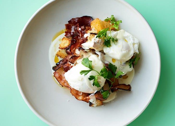 eggs benedict shop
