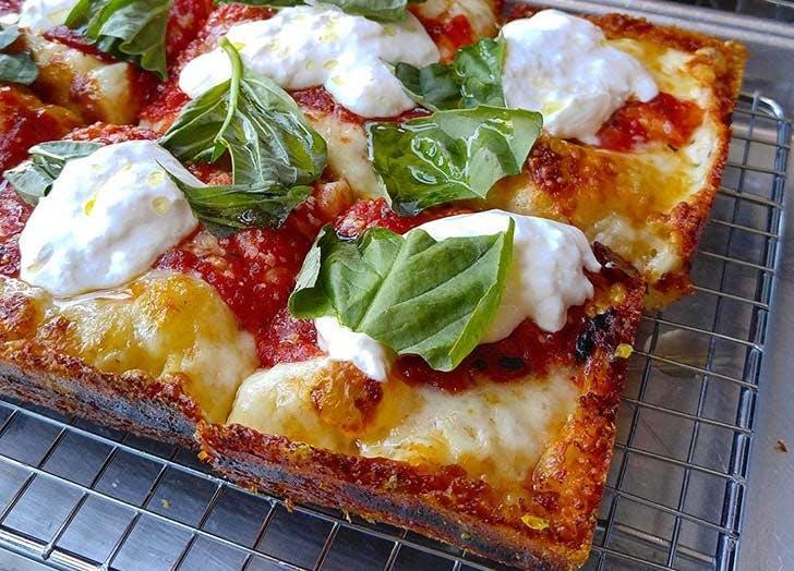 emmy squared pizza NY
