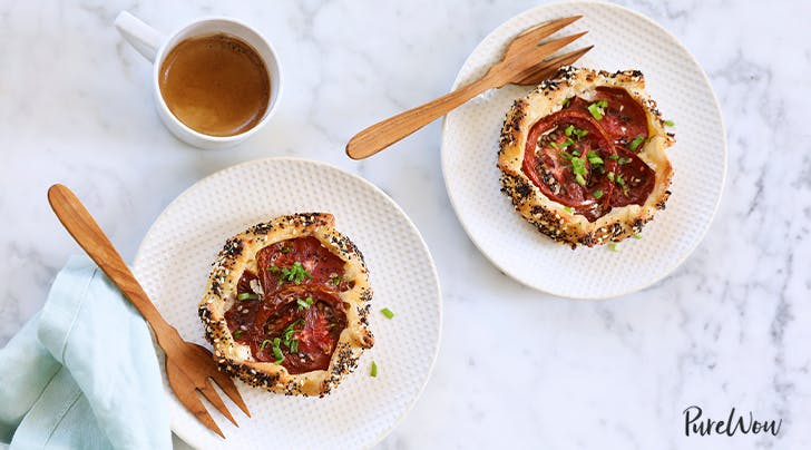 Everything Bagel Tomato Galettes