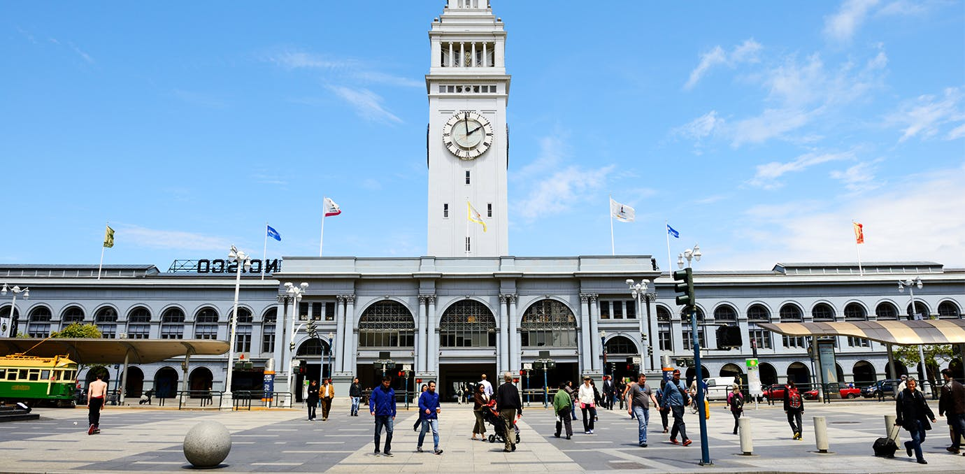 ferry building farmers market los angeles san francisco weekend WIDE