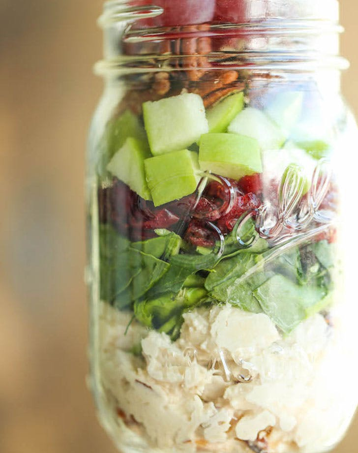 frozen chicken saladjar