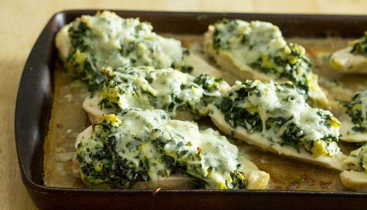 frozen chicken spinachartichoke