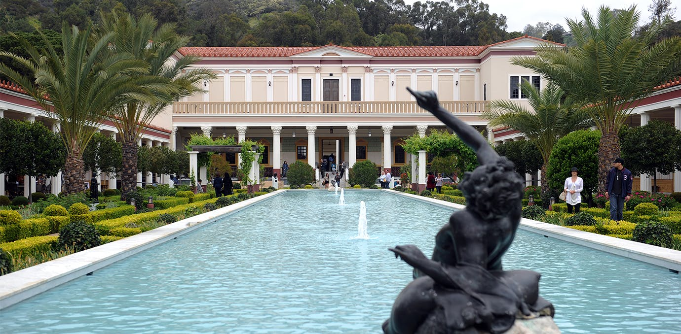 getty villa los angeles weekend guide WIDE
