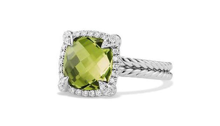 green david yurman colorful engagement rings