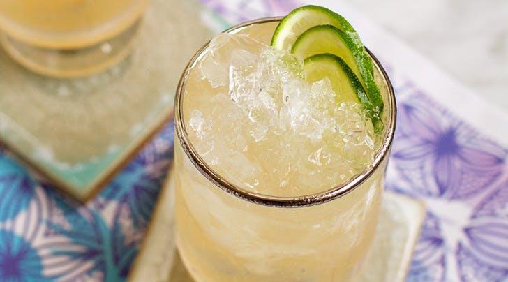 Guava Mezcal Mule Cocktail