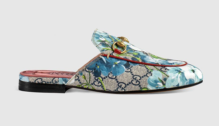 gucci backless slides loafers spring shoes