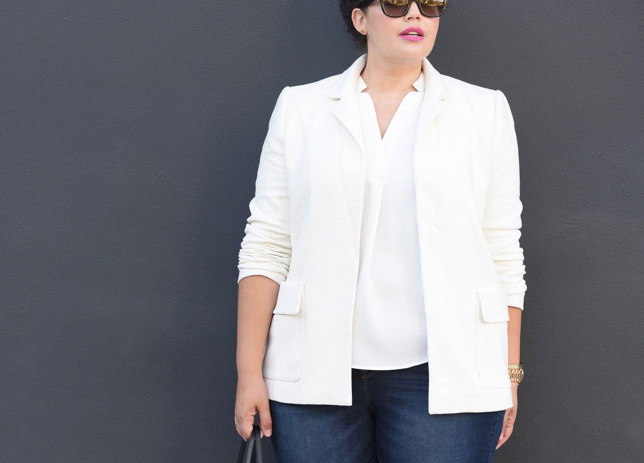 jacket trend whiteblazer
