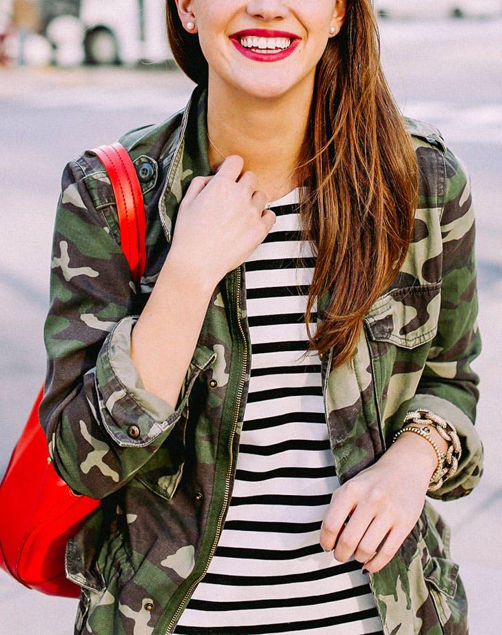 jacket trends camo