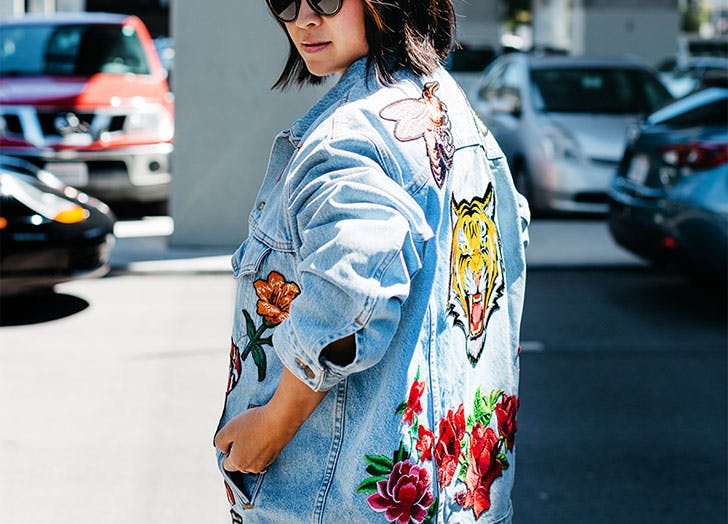 jacket trends embroidered