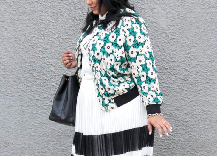 jacket trends floral