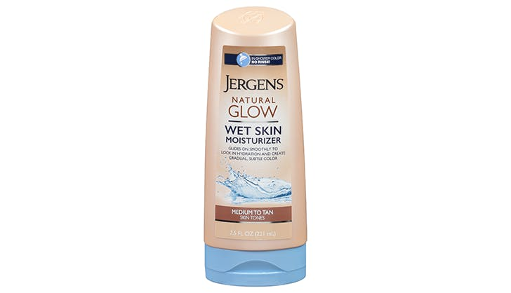 jergens natural glow wet skin moisturizer chicago walgreens beauty buys