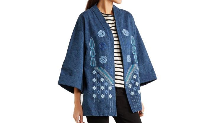 kimono denim use
