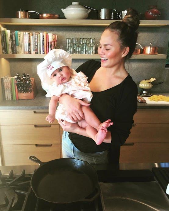 luna baby chef