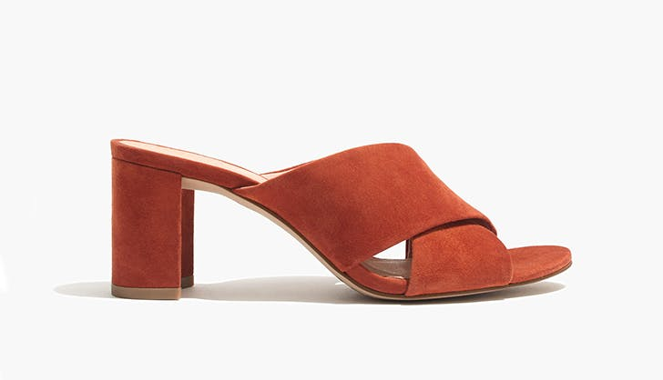 madewell heeled mules chicago spring shoe trends