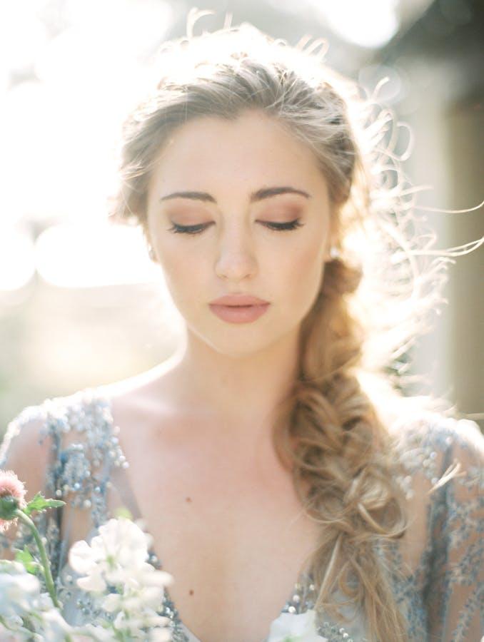 matte neutrals summer wedding beauty