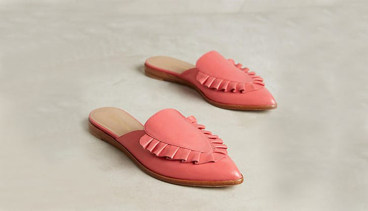 megumi ochi backless slides loafers spring shoes