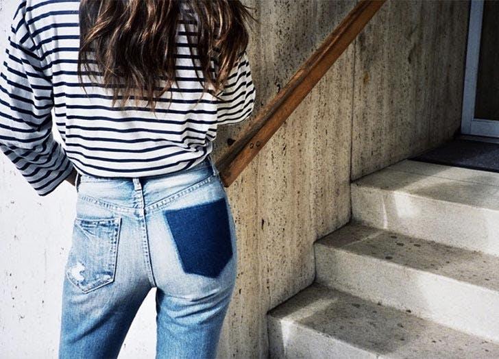 missing pocket jeans NY