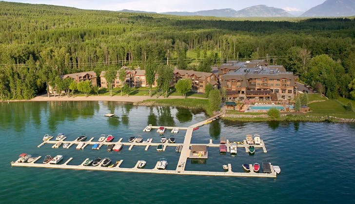 montana lodge at whitefish lake
