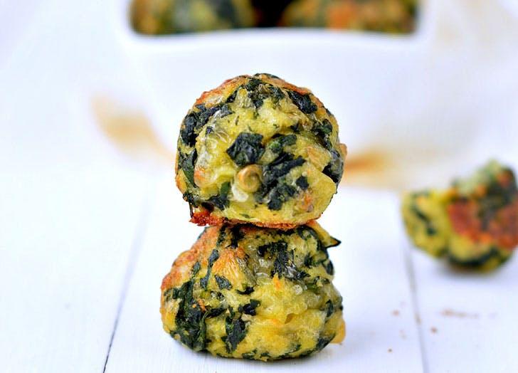 mood snacks spinachballs