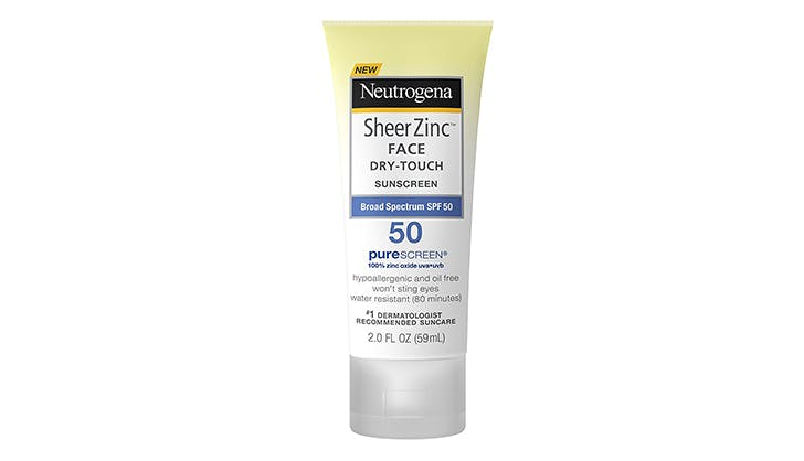 neautragena sheer zinc face dry touch suncreen chicago walgreens beauty buys