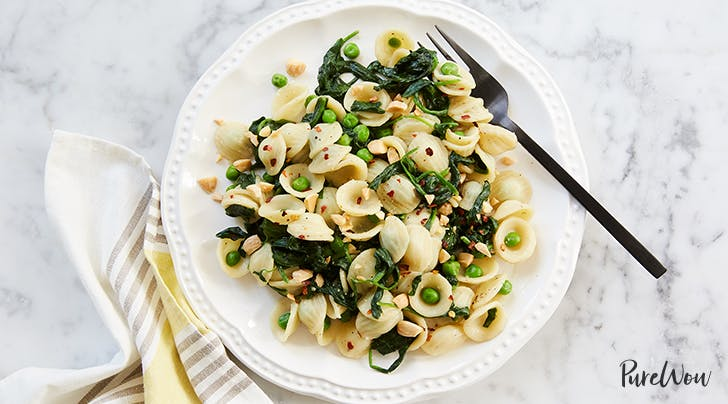 Orecchiette with Spring Greens