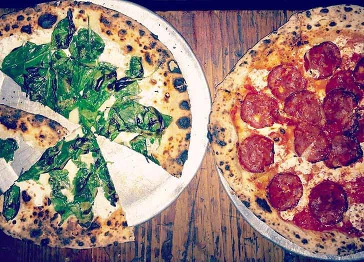 paulie gees pizza NY