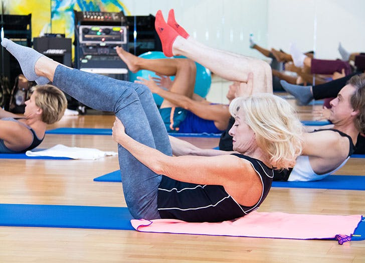 pilates myths age