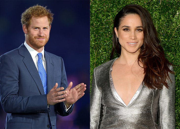 prince harry meghan markle dating