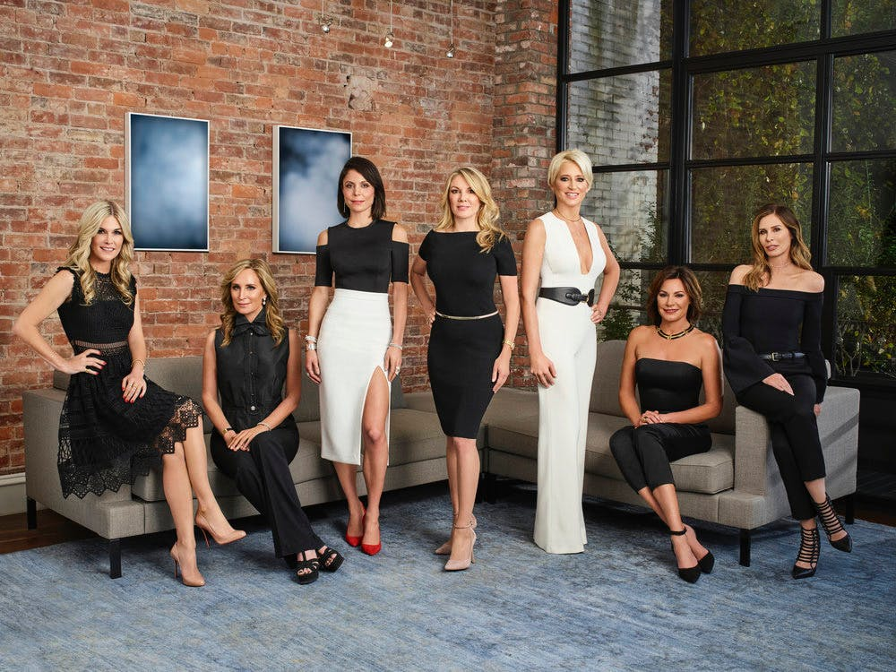 real housewives of nyc cast