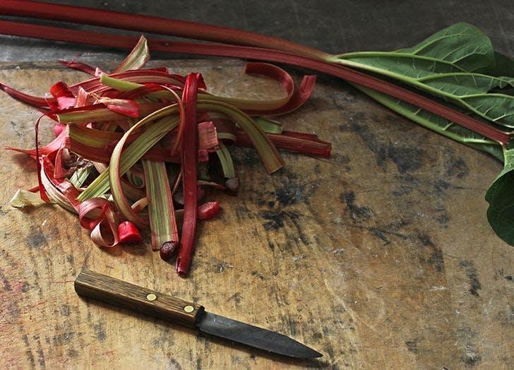 rhubarb greenmarket NY