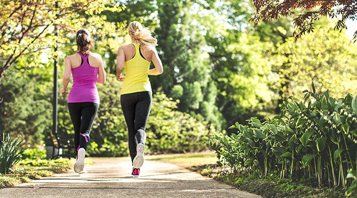 Two Birds, One Stone: We Went Jogging with Our Therapist