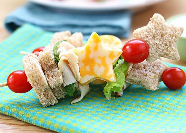 sandwich kebabs
