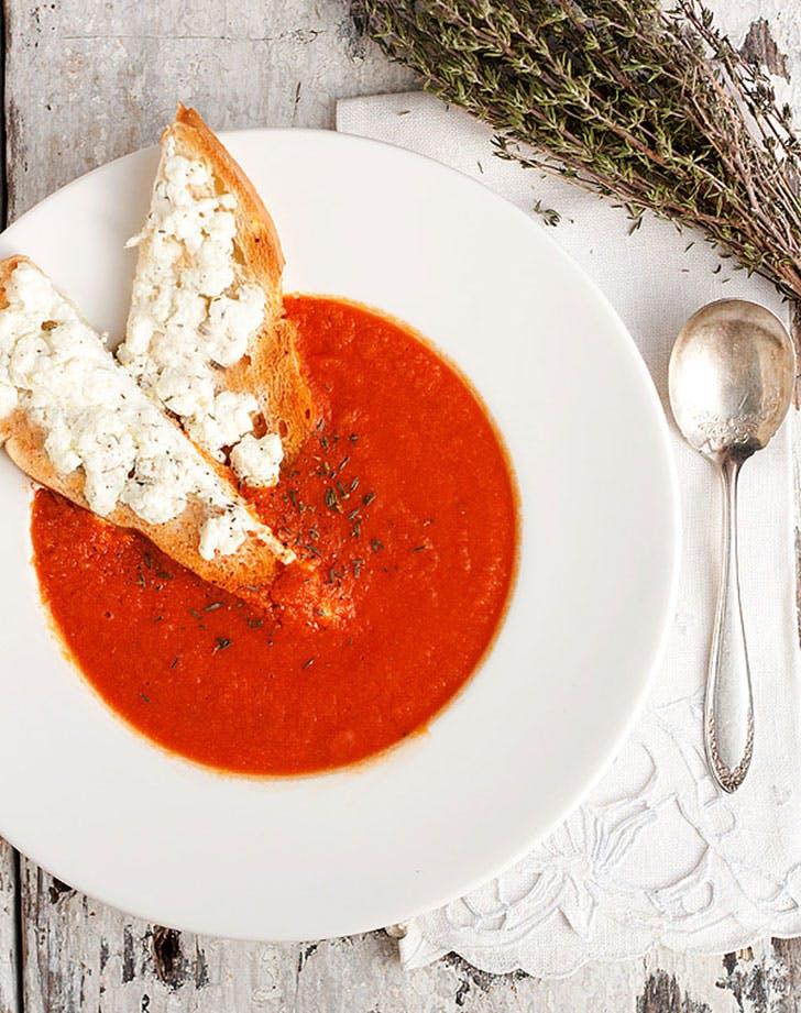 spring Soup tomato
