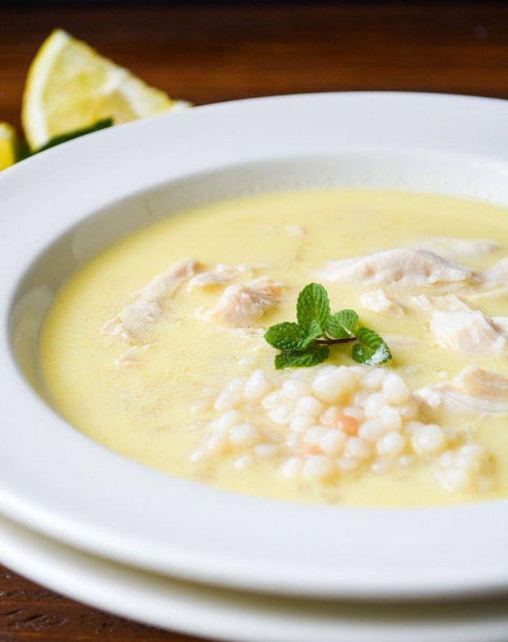 spring soup lemoncouscous