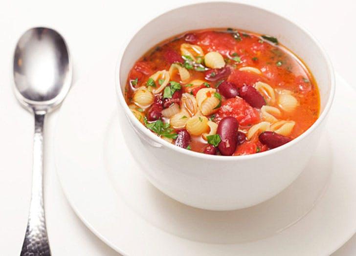 spring soup pastafagioli