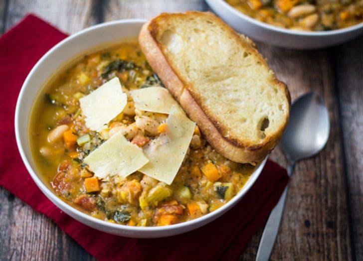 spring soup tuscanbean