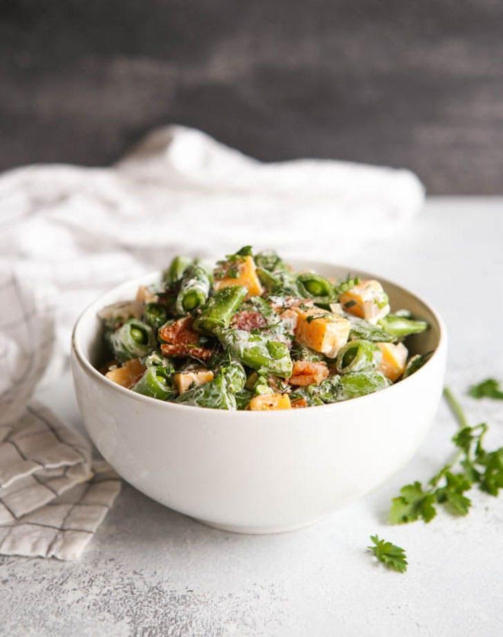 sugar snap pea salad completely delicious