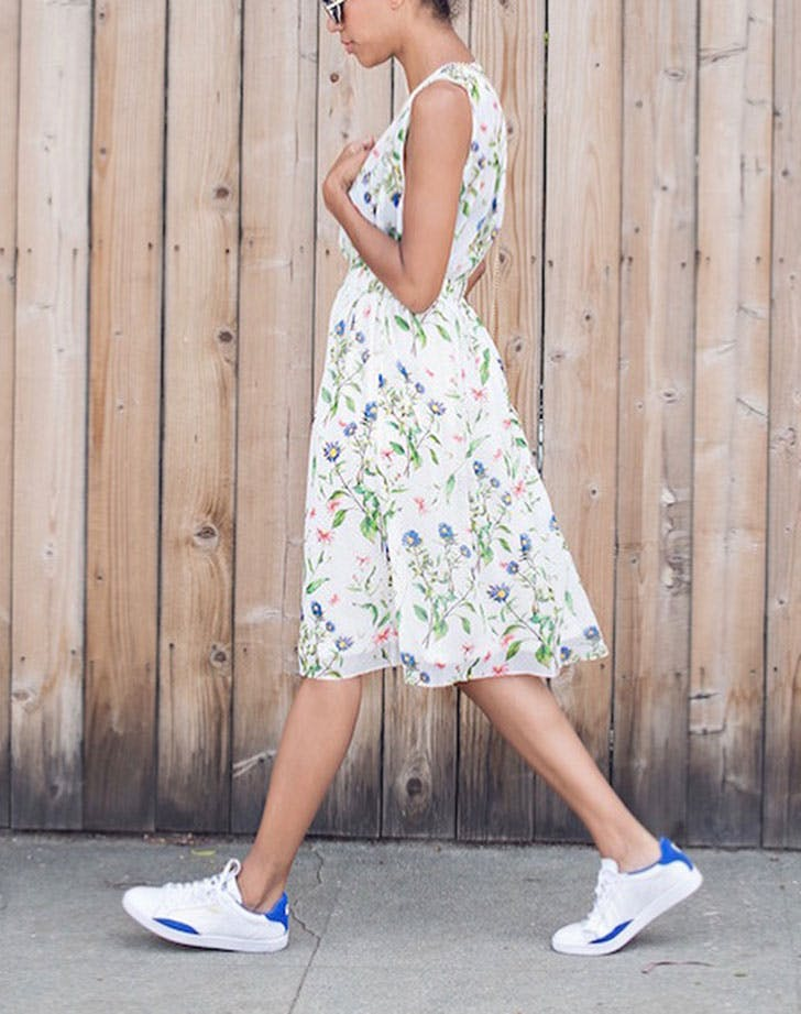 Image result for sundress with sneakers
