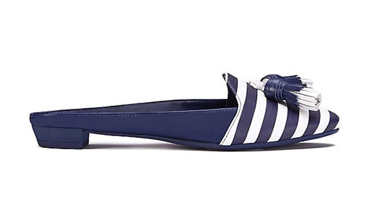 tory burch backless slides loafers spring shoes