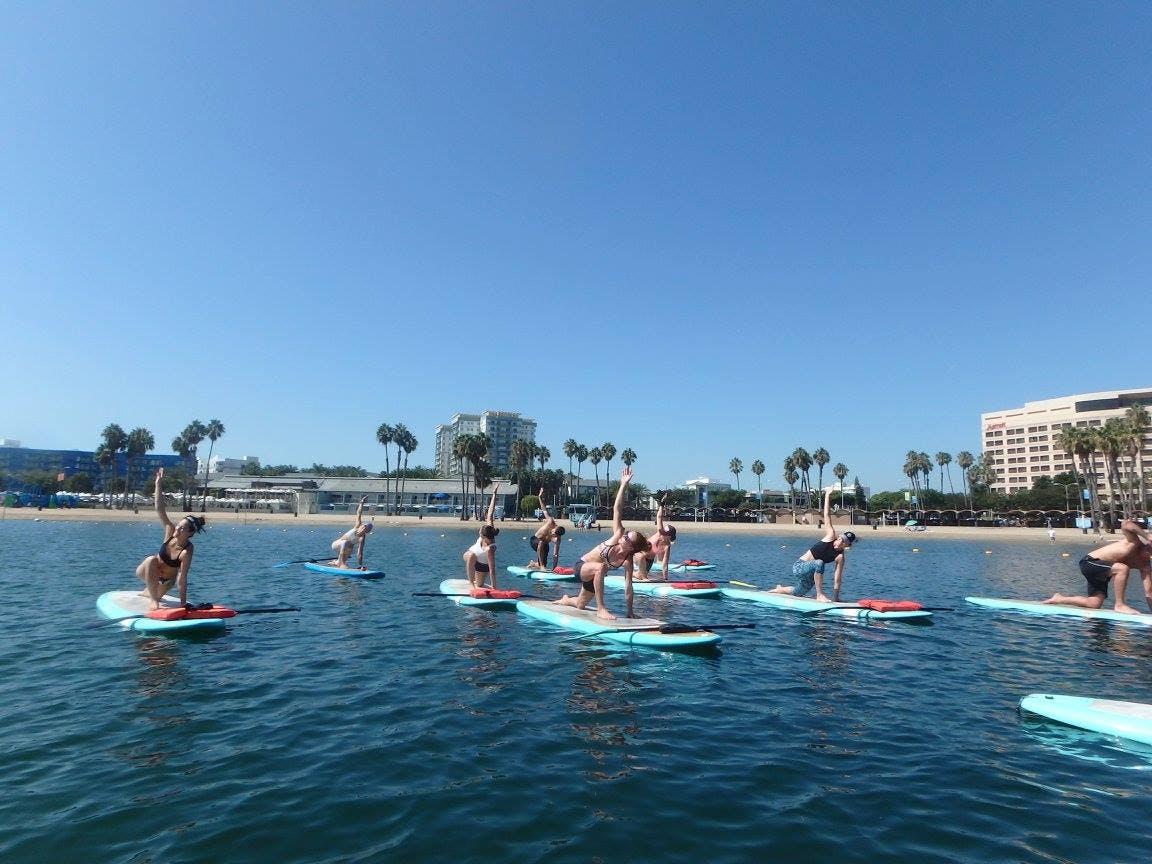 yogaqua marina del rey los angeles yoga
