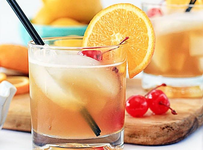 Amaretto sour cocktail recipe shot