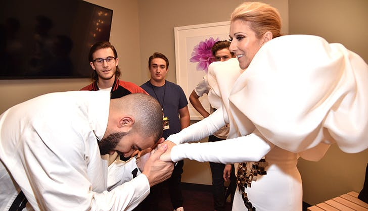 Billboard Music Awards Drake Celine Dion