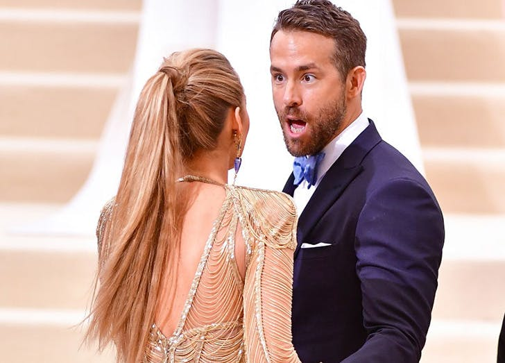 Blake Lively and Ryan Reynolds Met Gala 2017